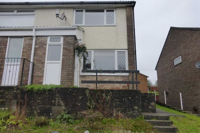 Thumbnail Semi-detached house to rent in Brigham Court, Hendredenny, Caerphilly