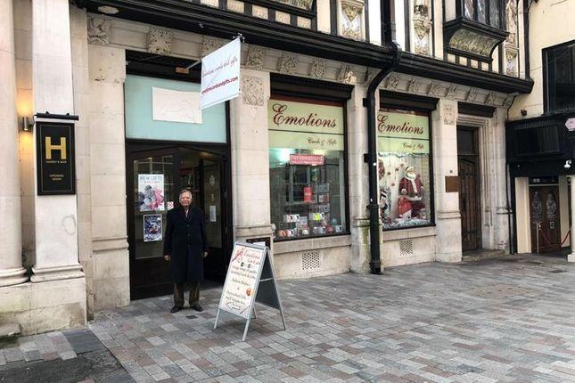 Thumbnail Retail premises to let in Bank Street (Ground Floor Retail), Maidstone, Kent