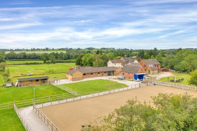 Thumbnail Barn conversion for sale in Beamhurst, Uttoxeter