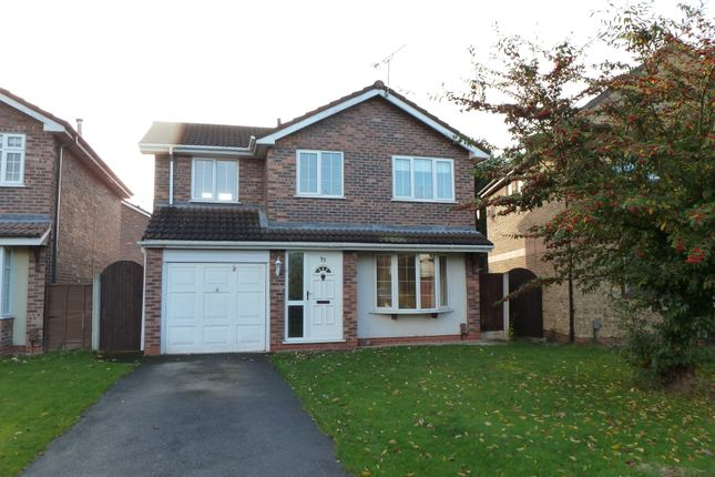 Thumbnail Detached house to rent in Juniper Drive, Great Sutton, Cheshire