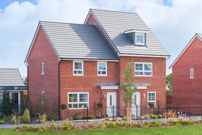 """Thumbnail Semi-detached house for sale in """"Maidstone"""" at Tenth Avenue, Morpeth"""