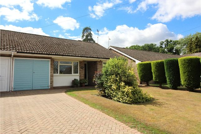 Thumbnail Bungalow for sale in Freshwood Drive, Yateley, Hampshire
