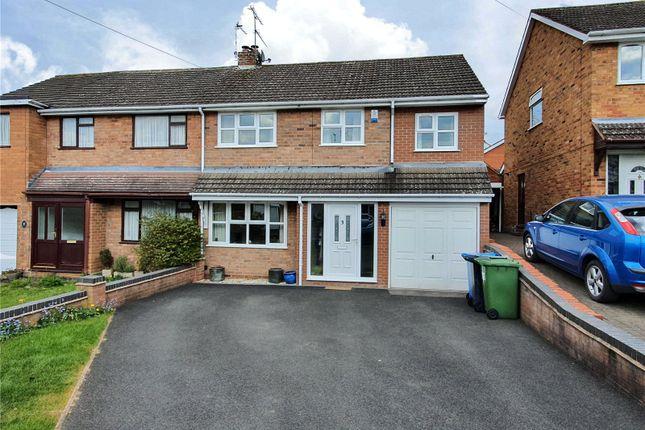 Thumbnail Semi-detached house for sale in Meddins Close, Kinver, Stourbridge