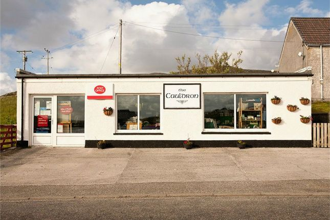 Thumbnail Commercial property for sale in Post Office, Leverburgh, Isle Of Harris, Western Isles