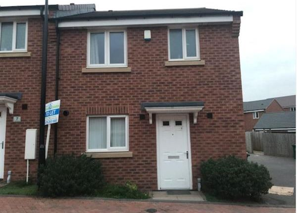 Thumbnail Terraced house to rent in Lancerswalk, Coventry