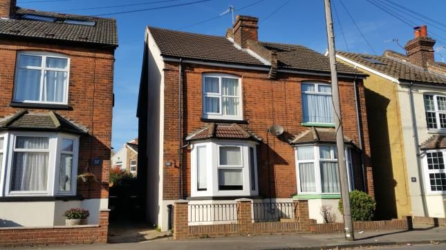 Thumbnail Semi-detached house for sale in Frenches Road, Redhill, Surrey