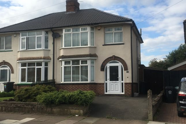 Thumbnail Semi-detached house for sale in Avebury Avenue, Leicester