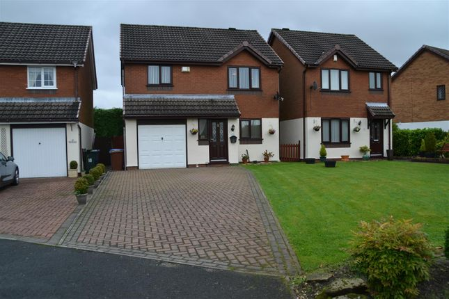 Thumbnail Detached house for sale in Cottage Fields, Chorley