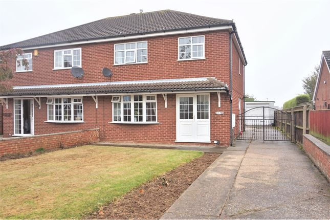 Thumbnail Semi-detached house for sale in Redwood Drive, Cleethorpes