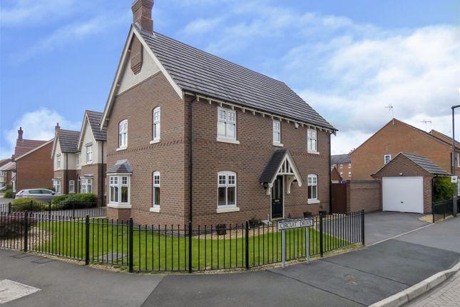 Thumbnail Detached house for sale in Circuit Drive, Long Eaton, Nottingham