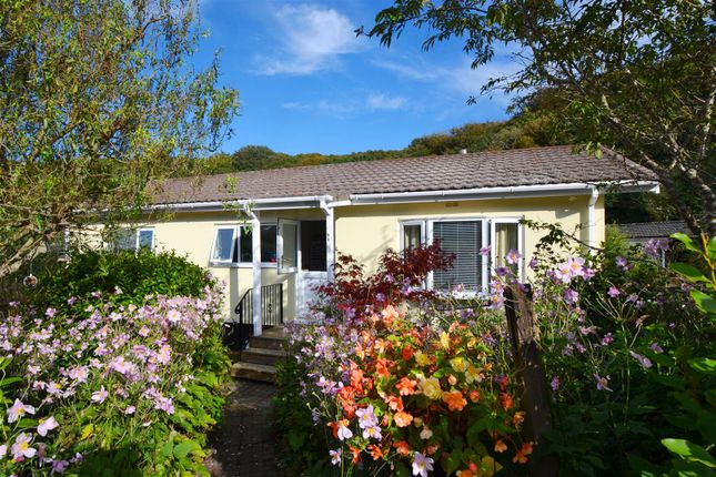 Thumbnail Detached bungalow for sale in Cosawes Park Homes, Perranarworthal, Truro