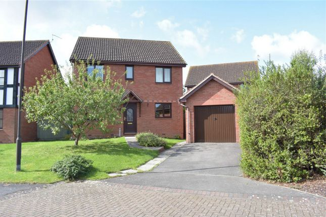 Thumbnail Detached house for sale in Courtney Close, Stonehills, Tewkesbury, Gloucestershire