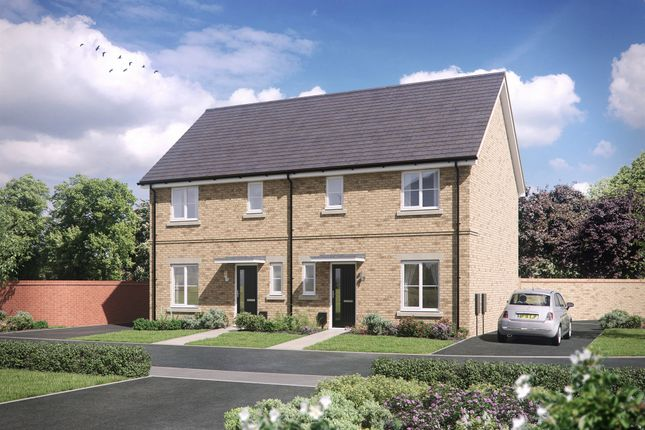 Thumbnail 2 bed semi-detached house for sale in Beulah Grove, Whitehouse, Milton Keynes