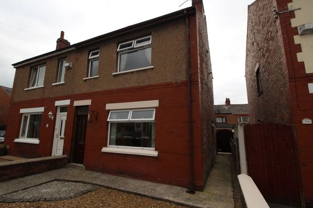 Thumbnail Semi-detached house to rent in Gloucester Avenue, Farington, Leyland