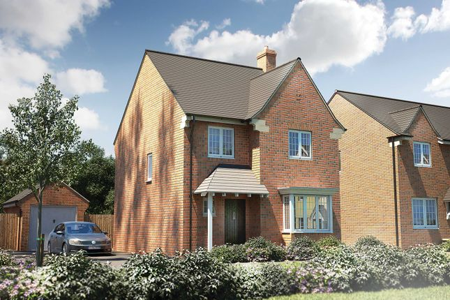 "Thumbnail Detached house for sale in ""The Titchfield"" at Roman Road, Bobblestock, Hereford"