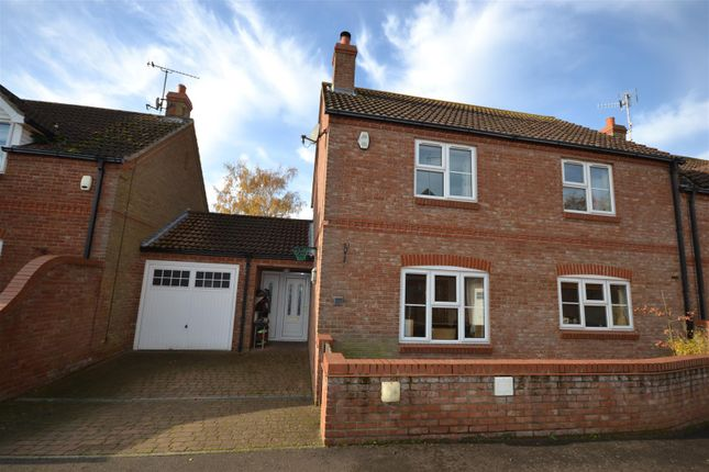 Thumbnail Semi-detached house for sale in Brenda Collison Close, Dersingham, King's Lynn