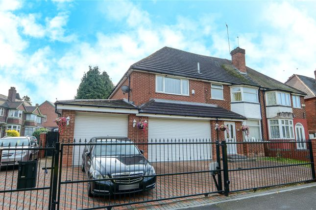 Thumbnail Semi-detached house for sale in Norman Road, Smethwick, West Midlands