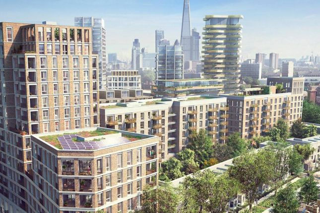 Thumbnail Flat to rent in Elephant Park, London