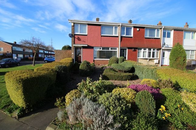 Thumbnail Terraced house to rent in Cotter Riggs Walk, Chapel Park, Newcastle Upon Tyne