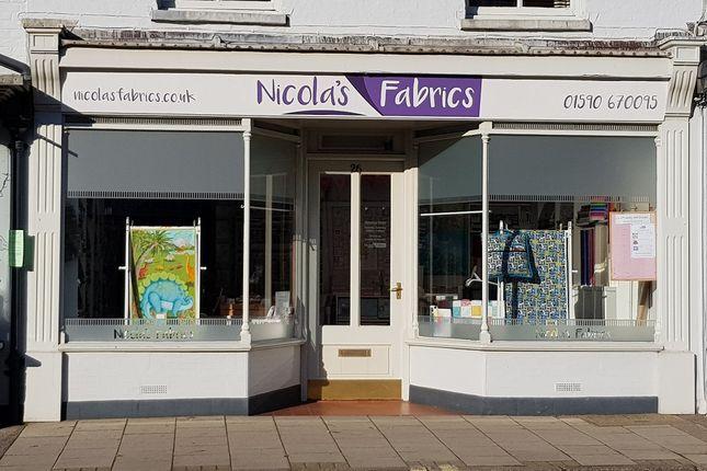 Thumbnail Retail premises for sale in Lymington, Hampshire