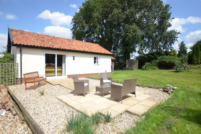 Thumbnail Detached bungalow for sale in Stow Bedon, Attleborough