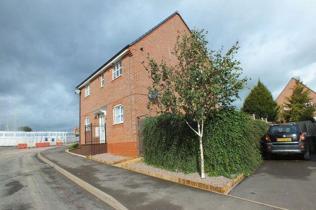 Thumbnail Flat for sale in Carsington Drive, Brindley Village, Sandyford, Stoke-On-Trent
