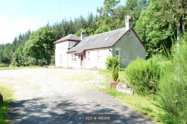 Thumbnail Detached house to rent in Drumvaich, Callander