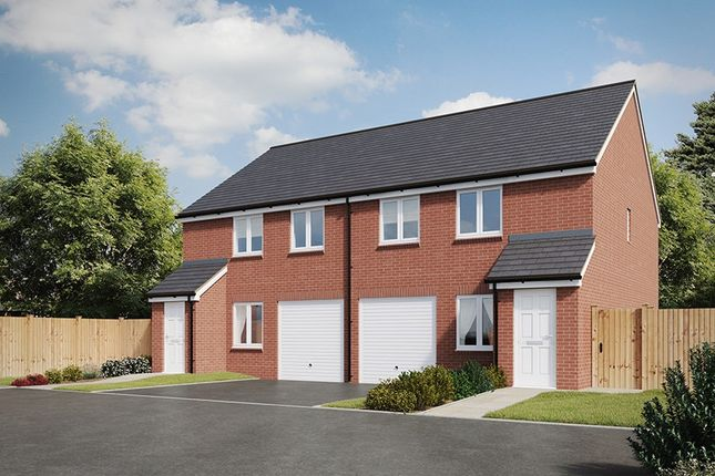 "Thumbnail Semi-detached house for sale in ""The Chatsworth "" at Heol Y Parc, Cefneithin, Llanelli"