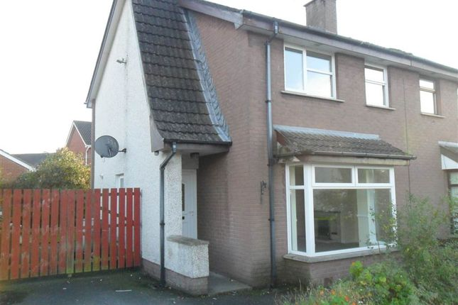 Thumbnail Semi-detached house for sale in 23, Manderley Court, Craigavon