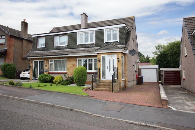 Thumbnail Semi-detached house for sale in 12 Mirren Drive, Duntocher