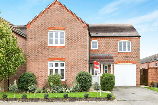 Thumbnail Detached house for sale in Hardwick Field Lane, Chase Meadows, Warwick