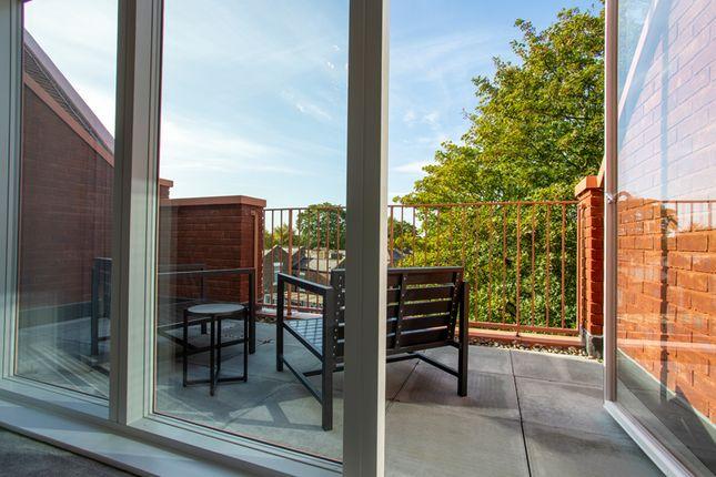 Typical Balcony of Nunhead Green, London SE15