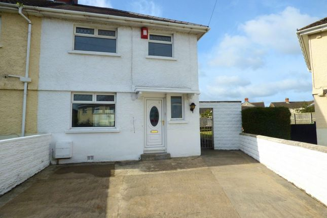 Thumbnail Semi-detached house to rent in Tyrisha Avenue, Grovesend, Swansea
