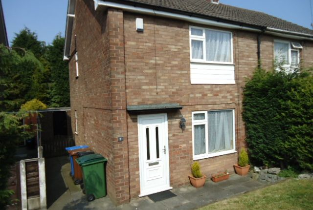 Thumbnail Semi-detached house to rent in Vale Close, Hazel Grove, Stockport