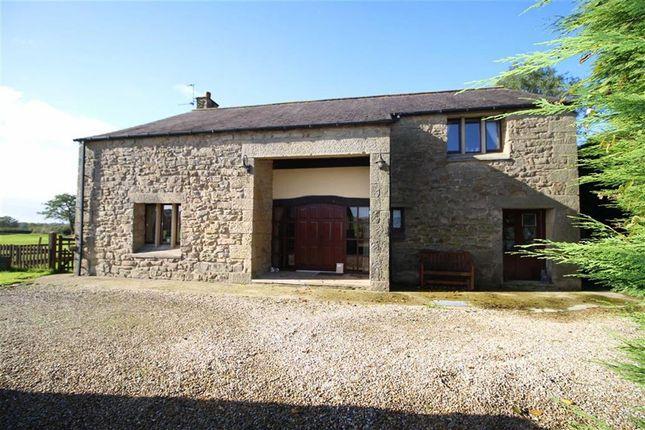 Thumbnail Barn conversion for sale in Back Lane, Whittingham, Preston