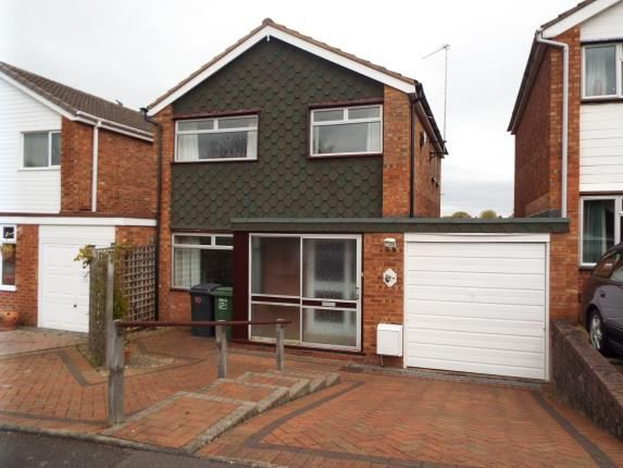 Thumbnail Link-detached house for sale in Soudan, Redditch, Worcestershire