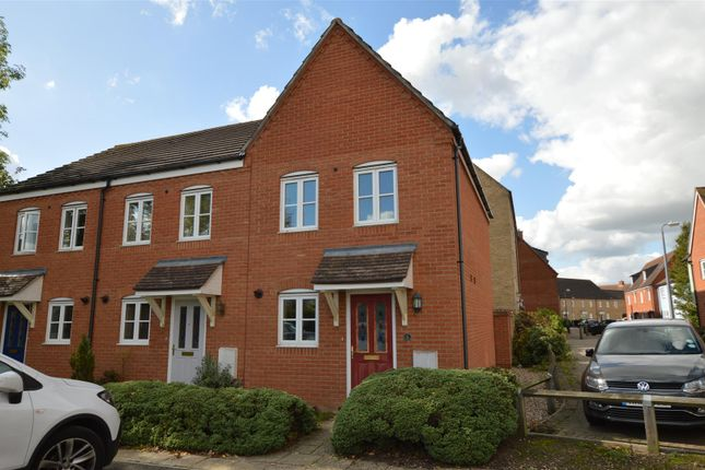 Thumbnail End terrace house for sale in Flavius Way, Colchester