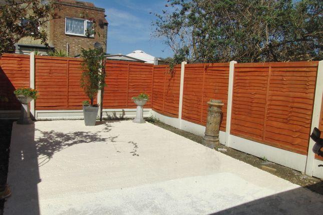 Garden of Buckingham Road, Stratford E15