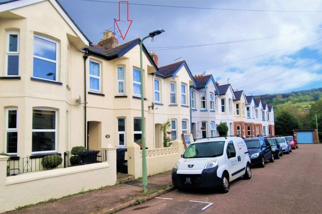 Thumbnail Terraced house for sale in Lymebourne Avenue, Sidmouth
