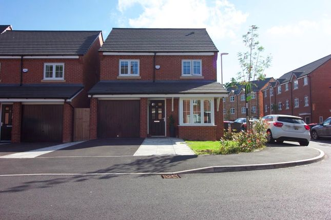 Thumbnail Detached house for sale in Racecourse Way, Salford