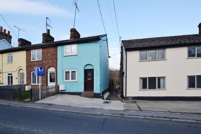 Thumbnail End terrace house for sale in Colchester Road, Halstead