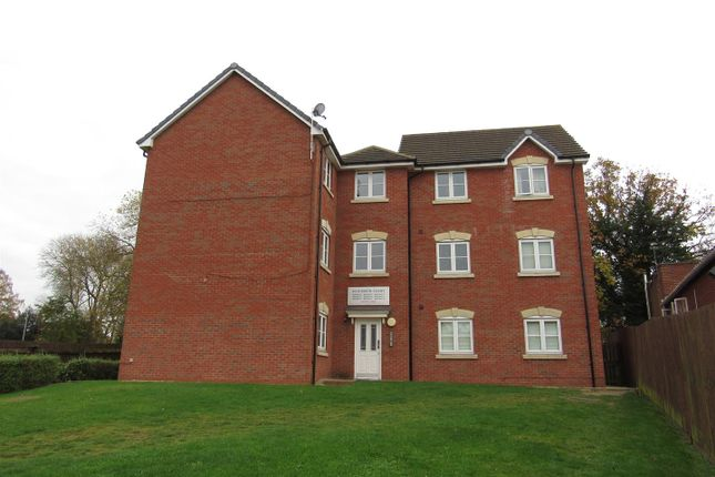 Thumbnail Flat for sale in Elizabeth Court, Stoney Stanton, Leicester