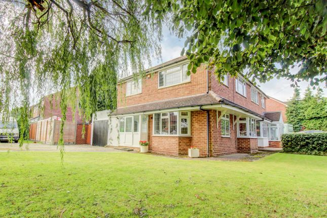 Thumbnail Semi-detached house for sale in Limetree Road, Streetly, Sutton Coldfield
