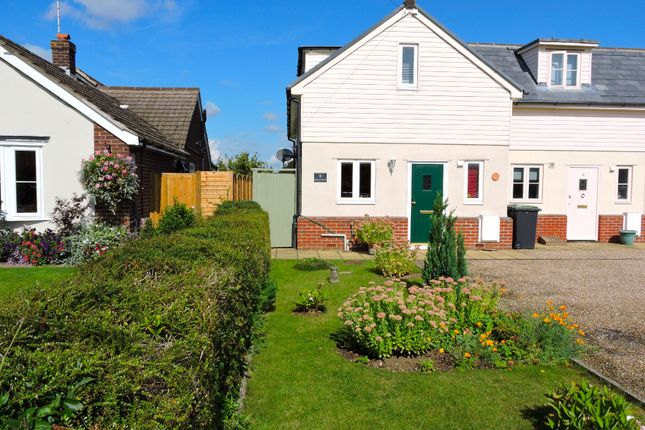 Thumbnail End terrace house for sale in Braintree Road, Felsted, Essex