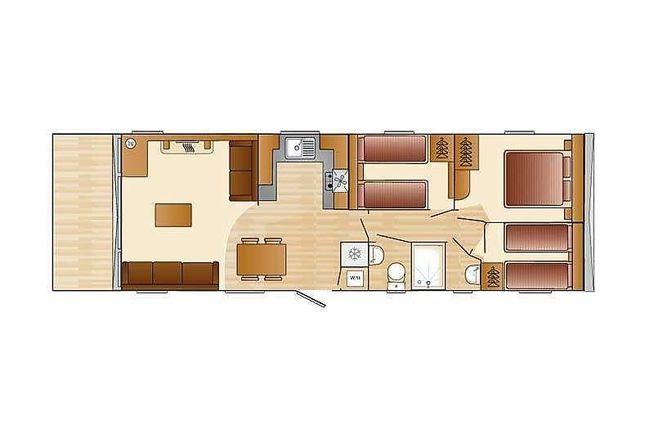 Floorplan of Juniper Close, Sandy Bay, Exmouth EX8
