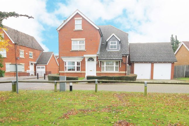 Thumbnail Detached house to rent in Whitebeam Close, Weston Turville, Aylesbury