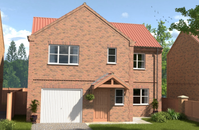 Thumbnail Detached house for sale in Franklin Way, Barrow-Upon-Humber, North Lincolnshire
