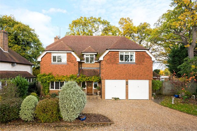 Thumbnail Detached house for sale in Wey Manor Road, New Haw, Surrey
