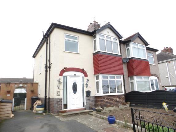 Thumbnail Semi-detached house for sale in Gadlas Road, Llysfaen, Colwyn Bay, Conwy