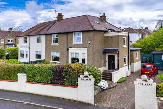 Thumbnail Semi-detached house for sale in 19 Burnside Road, Burnside, Glasgow